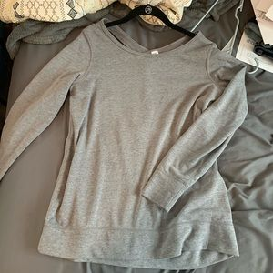 Old Navy open back pullover